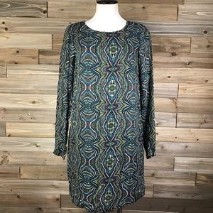 Prana paisley print sheath dress sz S